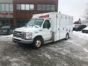 2010 FORD E-350 AMBULANCE SUPER DUTY!FULLY SERVICED, CERTIFIED!!