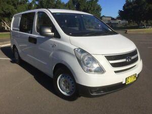 2014 Hyundai iLOAD TQ MY14 White 5 Speed Automatic Van Homebush West Strathfield Area Preview