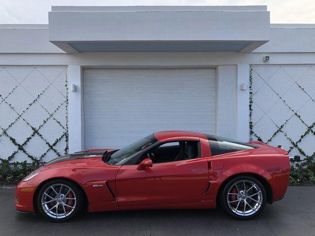 2009 Red Chevrolet Corvette Z06 2LZ   C6 Corvette Photo 3
