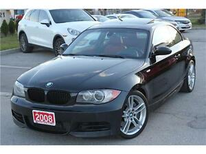 2008 BMW 1 Series 135i M Package 6 Speed Manual Transmission