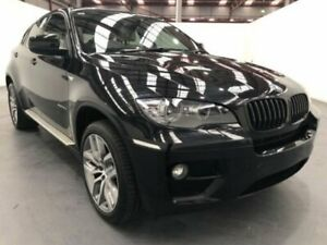 2013 BMW X6 E71 MY12 xDrive 30D Black 8 Speed Automatic Coupe Fyshwick South Canberra Preview