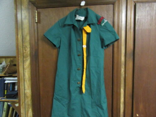 Girl Scout Dress, Size 10 with Tie, From Northwest Georgia          A208