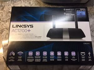 Linksys AC1200+ Dual Band Smart Wi Fi Gigabit Router