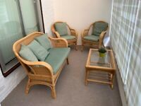 Conservatory Wicker Furniture Set