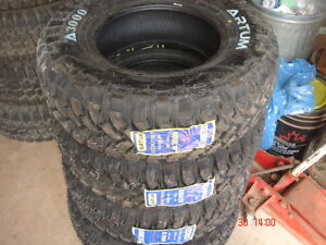 Set of 4  LT 235-75-15 M/S 10 ply Truck Tires