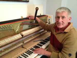 Piano specialist in GTA  – tuning and repairs