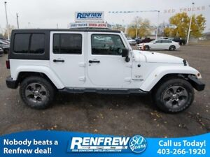 2018 Jeep Wrangler JK Unlimited Sahara 4x4, Leather, Remote Star