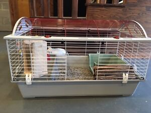BUNNY CAGE WITH ALL THE ACCESSORIES