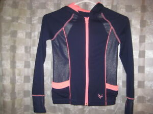 Justice fitted Girls Jacket with Thumb Holes size 7- EUC
