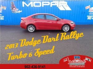 2013 Dodge Dart Rallye 6 Speed Turbo