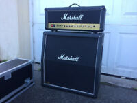 Marshall JCM 2000 DSL 100 Watt Head and Marshall 1960 4x12 Cabinet