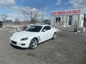 2006 Mazda RX-8 GT LEATHER ...PWR.SUNROOF 6 SPEED MAN.