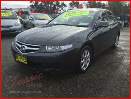 2006 Honda Accord MY06 Upgrade Euro Grey 5 Speed Sequential Auto Sedan Lansvale Liverpool Area Preview