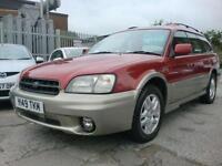 2001 SUBARU LEGACY 2.5 OUTBACK AWD 5D AUTO 156 BHP