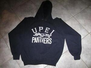 ..Cosy Fleece-Lined Black ...HOODIE..... [Youth Large]
