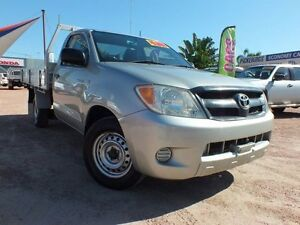 2005 Toyota Hilux GGN15R MY05 SR Silver 5 Speed Automatic Utility Rosslea Townsville City Preview