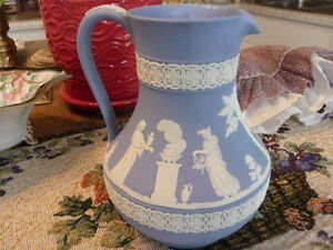 "Lovely ""Wedgwood Jasper Wear"" Milk Pitcher ."