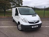 Vauxhall Vivaro 2.0CDTi 2011 61 *ONLY 78K MILES, NEW MOT, NO VAT*
