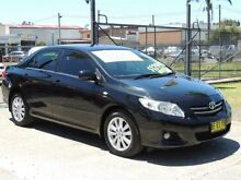 2007 Toyota Corolla ZRE152R Ultima Black 4 Speed Automatic Sedan Oak Flats Shellharbour Area Preview