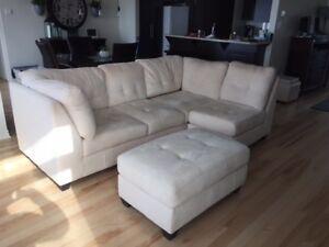 Divan sectionnel meuble salon