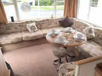 Perfect 3 bedroom starter caravan for sale at 5* Amble Links holiday park, Pride of Northumberland
