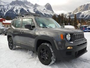 2017 Jeep Renegade Sport Auto 4x4 Custom Tires Roof Rack