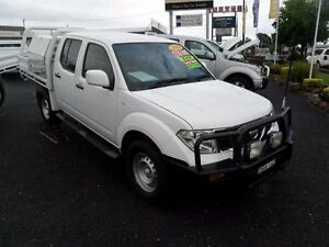 2013 Nissan Navara D40 S7 RX White Manual Cab Chassis Mudgee Mudgee Area Preview