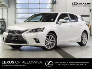2017 Lexus CT 200h Touring w/Winter and Summer Tires
