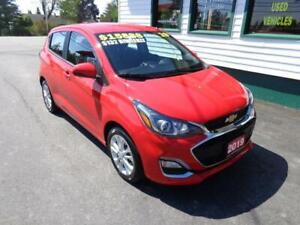 2019 Chevrolet Spark LT for only $125 bi-weekly all in!