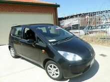 2008 Mitsubishi Colt RG MY08 ES Black 5 Speed Manual Hatchback Mount Lawley Stirling Area Preview