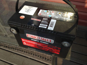 1yr old side post motomaster battery