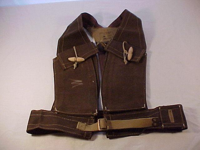 """ORIGINAL,RARE &  MINT Condition British Commando """"Bren Bra"""" Vest (H&S 1943)"""