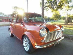 1997 Rover Mini WIdebody BSCC Orange Manual Hatchback Concord Canada Bay Area Preview
