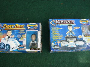 2 x toys in box Phat ride and Vinylizer