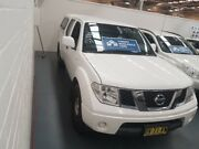 2013 Nissan Navara D40 S7 MY12 RX 4x2 White 5 Speed Automatic Utility Cardiff Lake Macquarie Area Preview