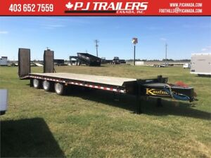 "Kaufman 30'x102"" Triple Axle, Air Pintle Trailer, 62K GVWR"