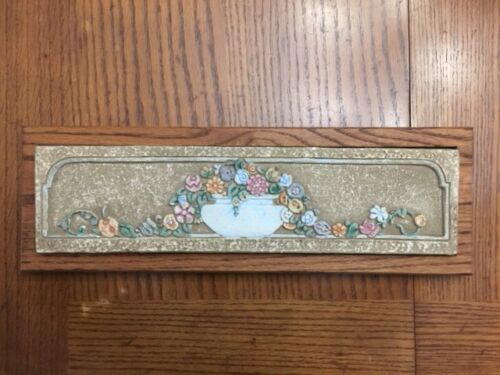 Claycraft Potteries early 20th century decorative tile