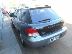 2004 Subaru Impreza S MY04 RV 20i AWD Black Manual Hatchback Croydon Burwood Area Preview