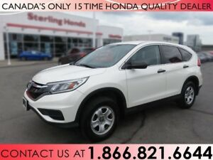 2015 Honda CR-V LX | 1 OWNER | NO ACCIDENTS