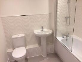 Bedfordshire, new build apartment. 1 bed, bathroom large lounge/integral kitchen, reserved parking.