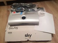 Sky HD Box, Cables and Remote