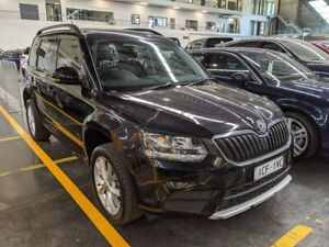 2013 Skoda Yeti 5L 77TSI Black Sports Automatic Dual Clutch Westmeadows Hume Area Preview