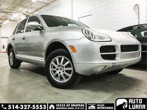 2005 Porche Cayenne AWD/TOIT/MAGS/CUIR/ TRES PROPRE!
