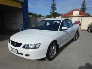 2004 Holden Crewman VY II S White 4 Speed Automatic Crew Cab Utility Christies Beach Morphett Vale Area Preview