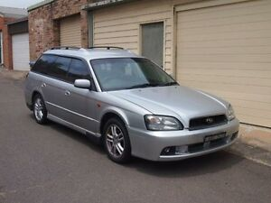 2002 Subaru Liberty B3 MY03 RX Silver 4 Speed Automatic Wagon Petersham Marrickville Area Preview