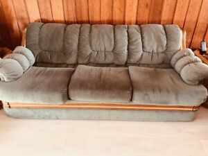 Vintage three seater couch