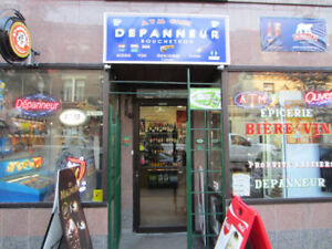 DEPANNEUR\CONVENIENT STORE WITH STOCK\EQUIPEMENT FOR SALE