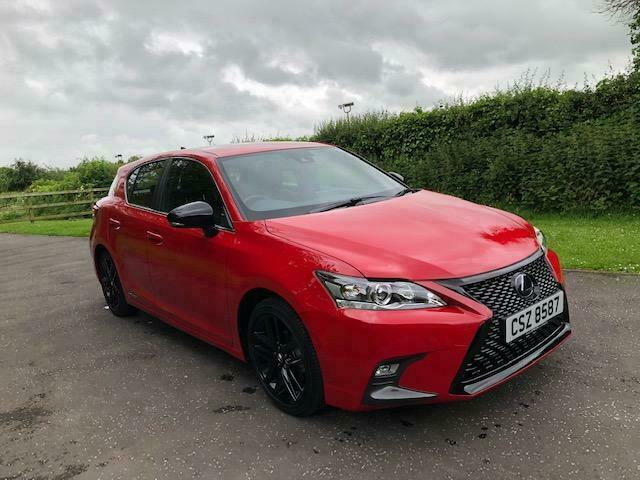 Lexus Ct200h F Sport Cvt Hybrid With Only 1863 Miles In