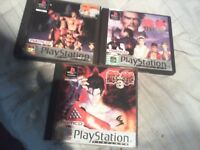 Tekken ps1 collection only £20