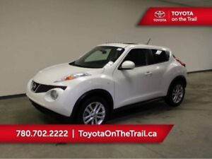 2014 Nissan JUKE SL AWD; LEATHER, NAV, TURBO, HEATED SEATS, SUNR